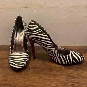Zebra heels 6.5